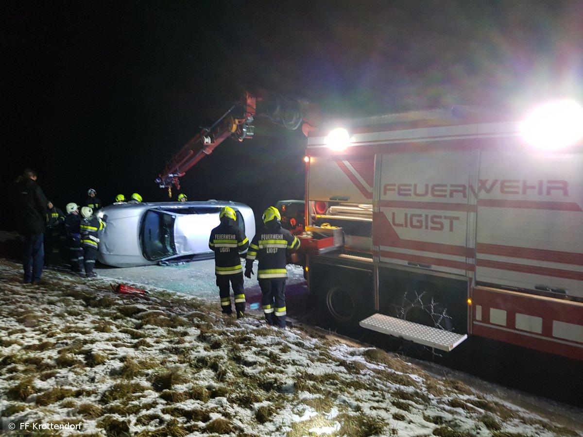 Technischer Einsatz vom 22.01.2019  |  © FF-Krottendorf (2019)