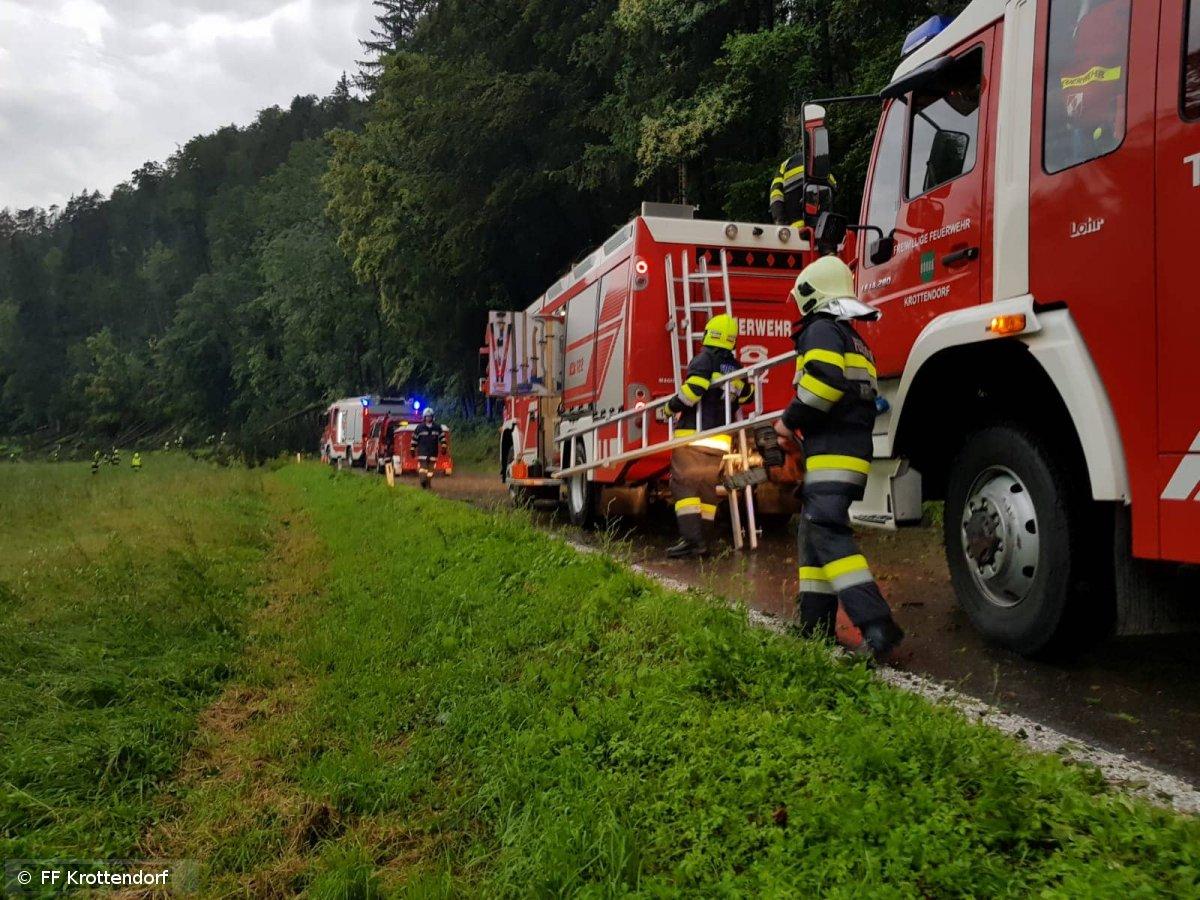Technischer Einsatz vom 12.06.2018  |  © FF-Krottendorf (2018)