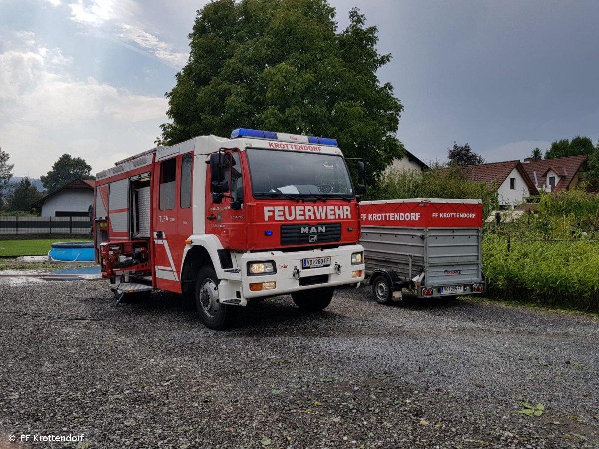 Technischer Einsatz vom 10.08.2018  |  © FF-Krottendorf (2018)