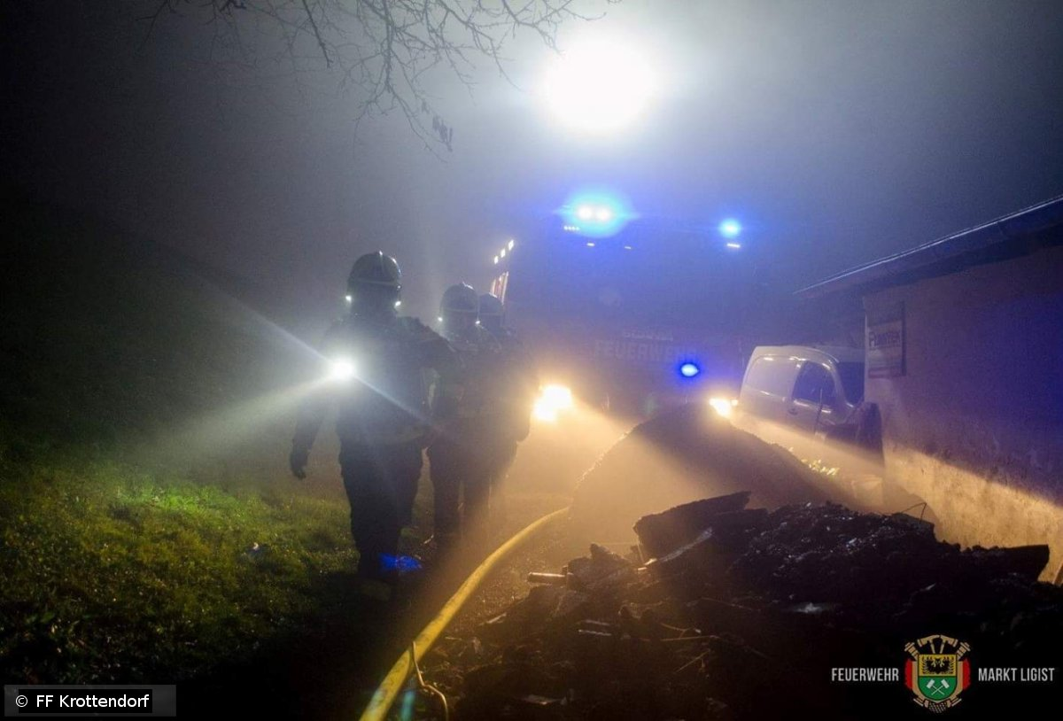 Brandeinsatz vom 04.11.2018  |  © FF-Krottendorf (2018)
