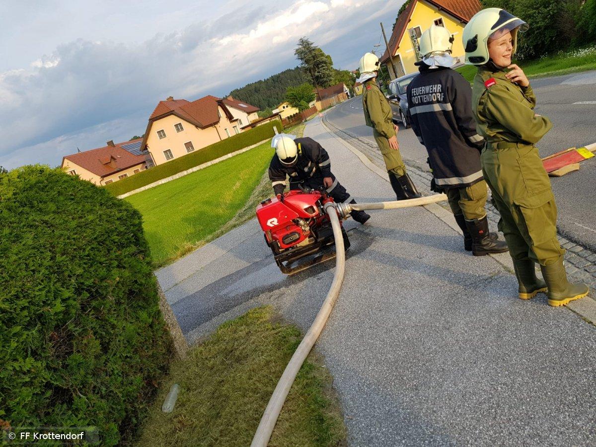 Übung vom 18.05.2018  |  © FF-Krottendorf (2018)