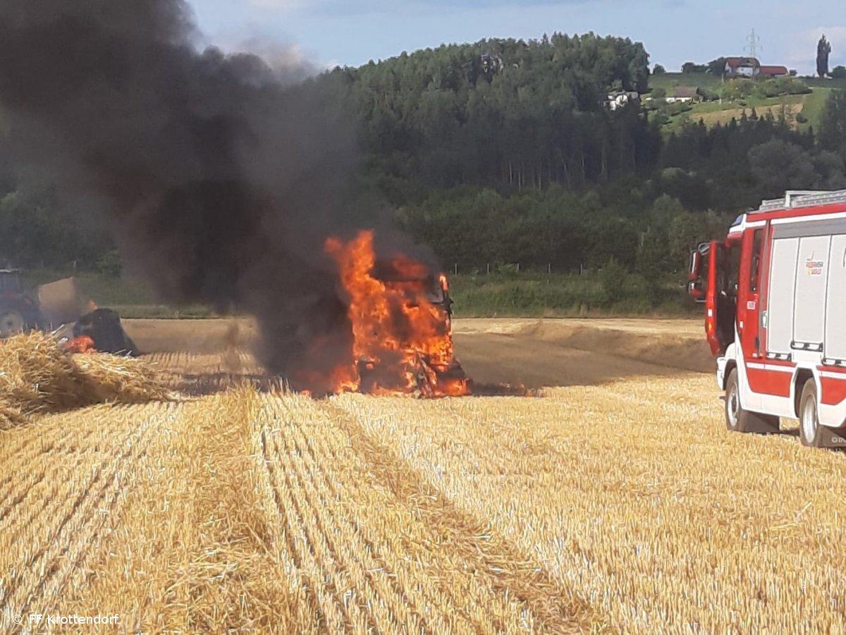 Brandeinsatz vom 16.07.2019  |  © FF-Krottendorf (2019)