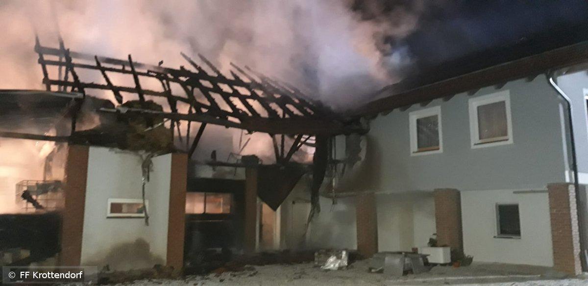 Brandeinsatz vom 27.08.2019  |  © FF-Krottendorf (2019)