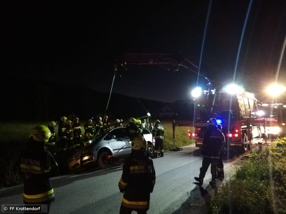 Technischer Einsatz vom 03.09.2019  |  © FF-Krottendorf (2019)