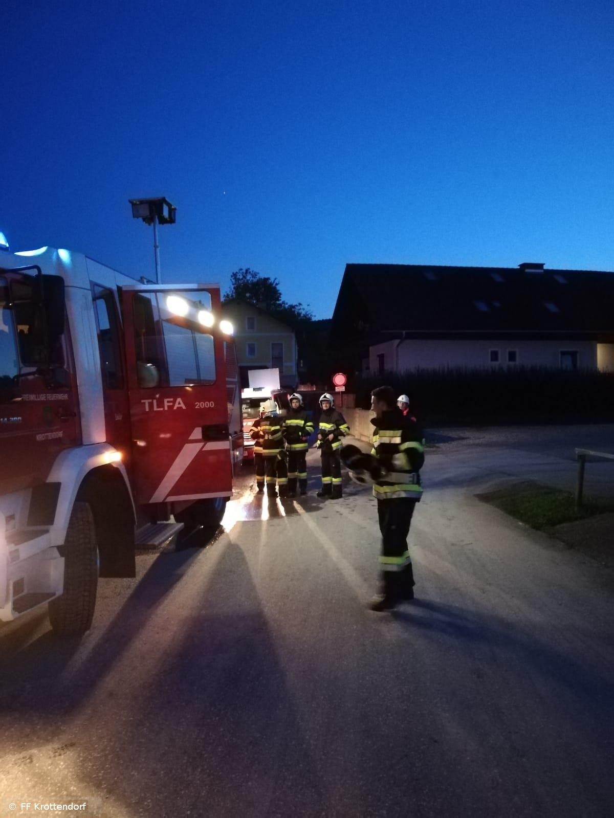 Übung vom 09.09.2019  |  © FF-Krottendorf (2019)