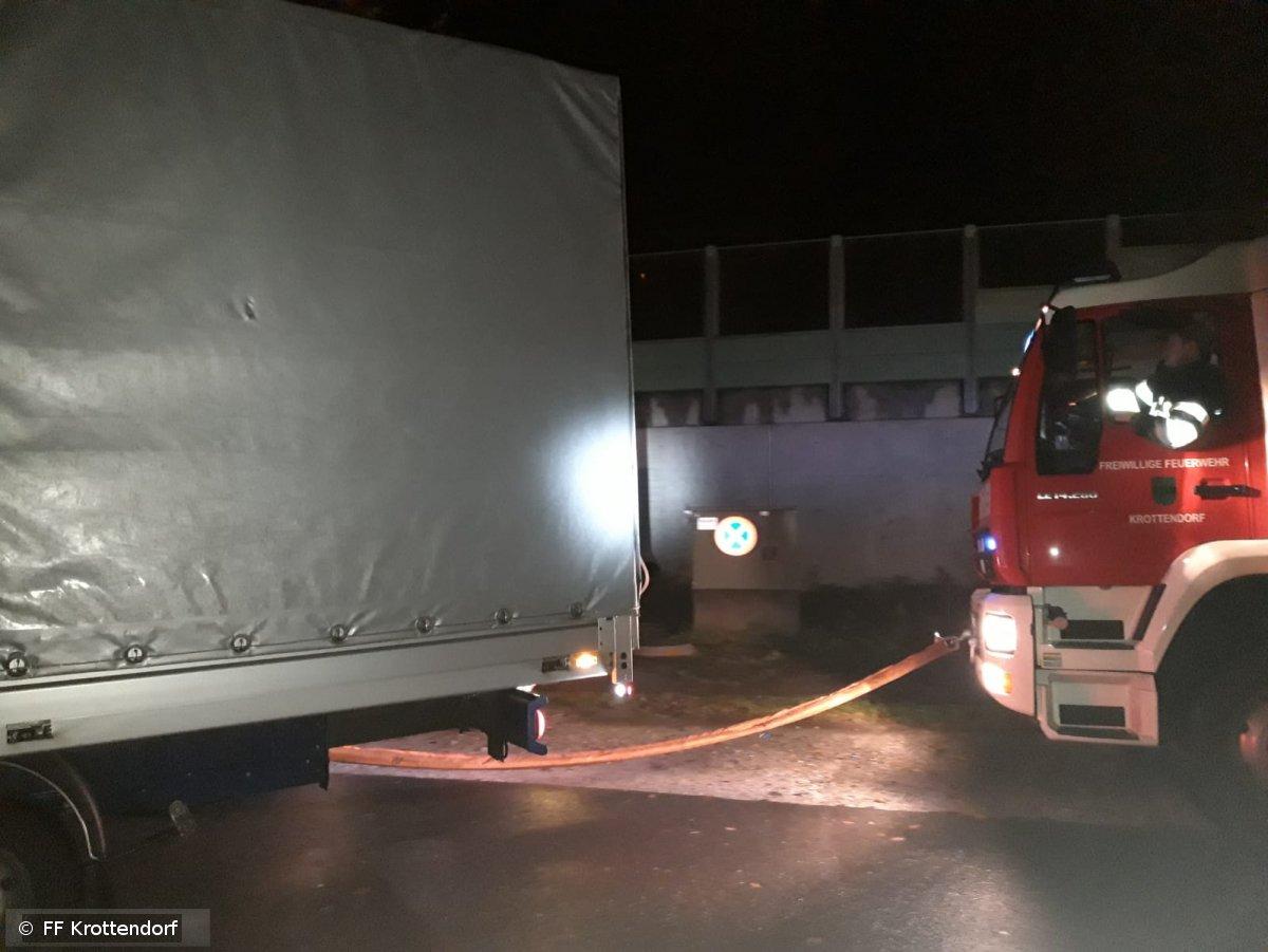 Technischer Einsatz vom 13.11.2019  |  © FF-Krottendorf (2019)